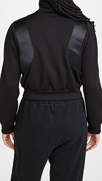 Area Patchwork Braid Track Jacket