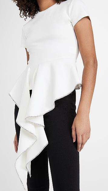 Area 裙型腰褶上衣