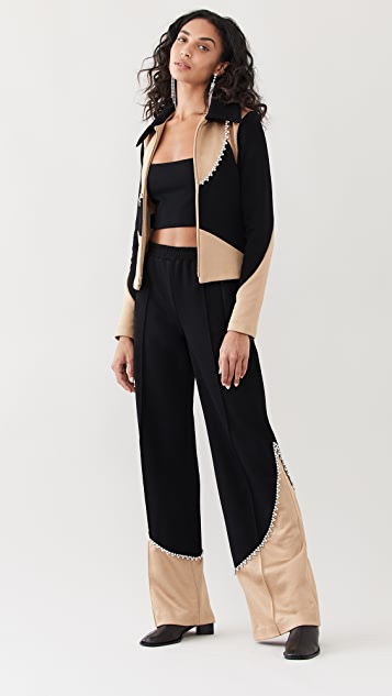 Area Colorblocked Track Pants
