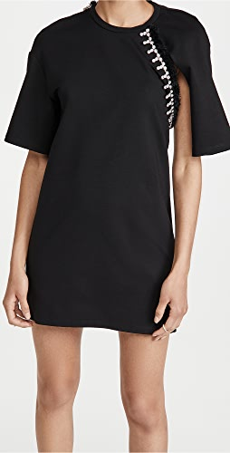 Area - Convertible sleeve T Shirt Dress