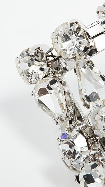 Area Crystal Ponytail Barrette