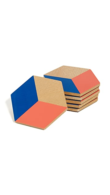 Areaware Table Tile Coasters