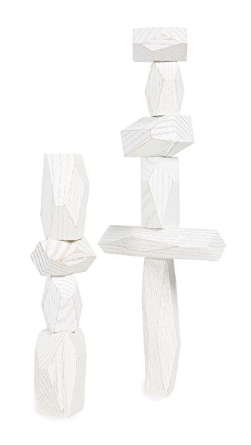 Areaware Balancing Blocks