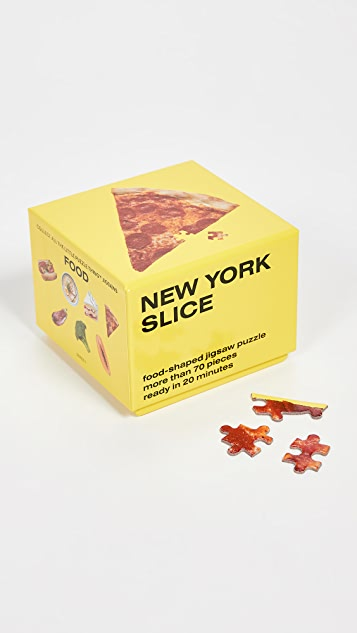 Areaware Little Puzzle Thing - New York Slice