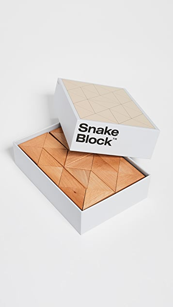 Areaware Large Snake Block