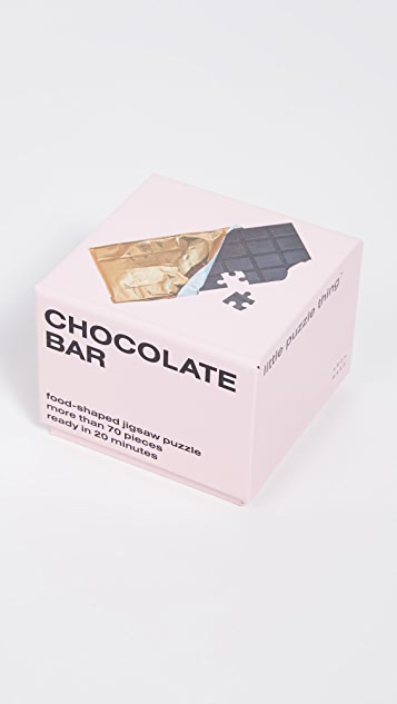 Areaware Little Puzzle Thing: Chocolate Bar
