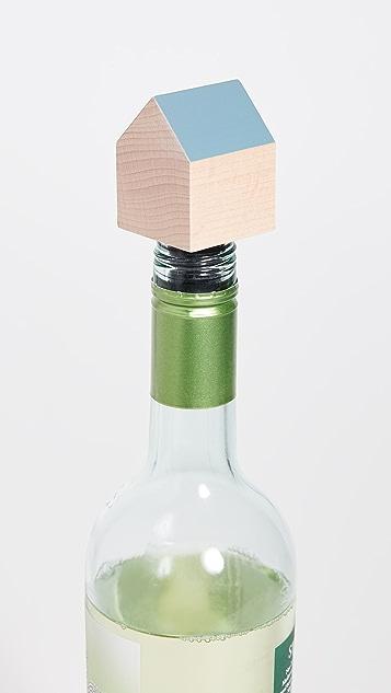 Areaware House Bottle Stopper