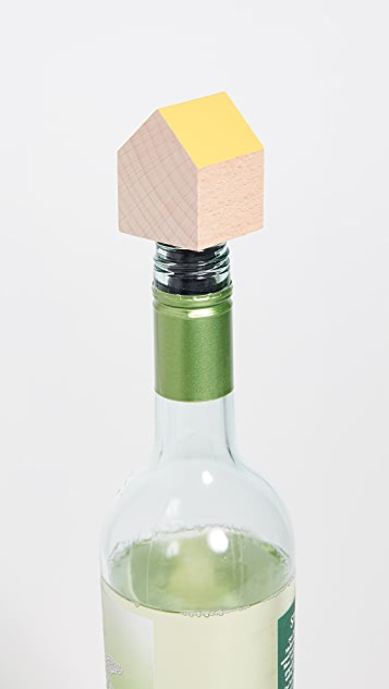 Areaware House Bottle Stopper