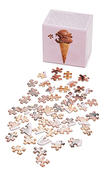 Areaware Little Puzzle Thing: Chocolate Scoop