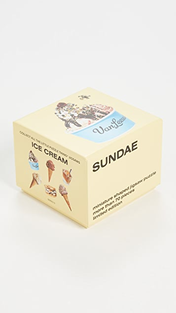 Areaware Little Puzzle Thing: Sundae