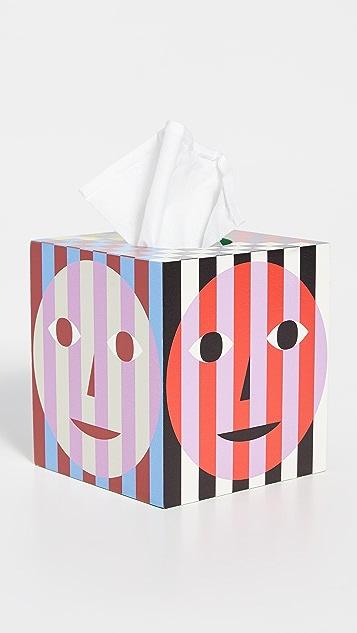 Areaware Dusen Dusen Everybody Tissue Box
