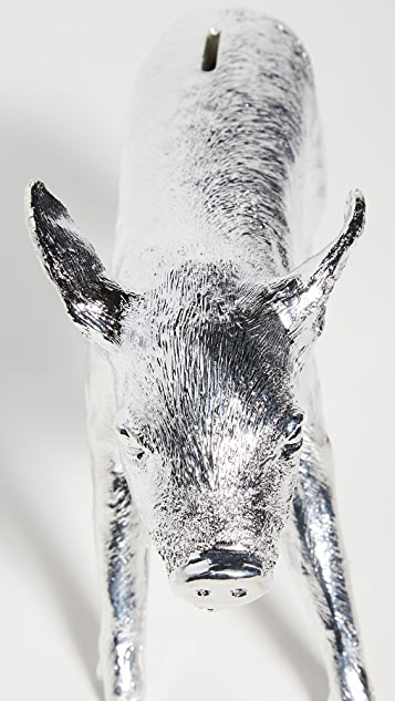 Areaware Bank In The Form Of A Pig