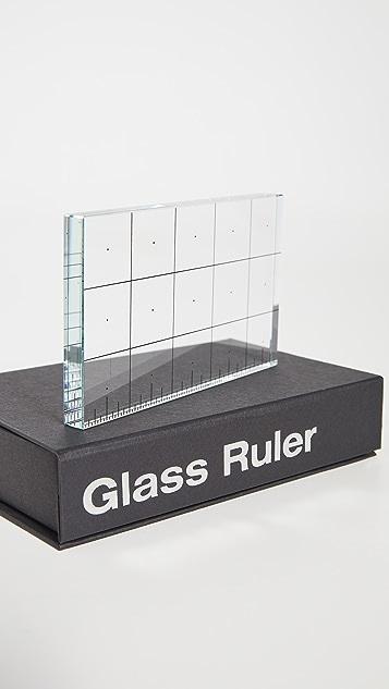 Areaware Glass Ruler