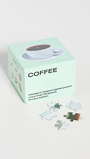 Areaware Little Puzzle Thing: Coffee