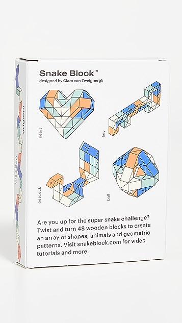 Areaware Snake Block Super Block