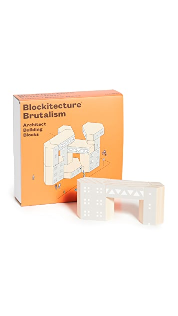 Areaware Blockitecture (Brutalism)