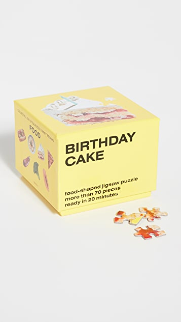 Areaware Little Puzzle Thing: Birthday Cake