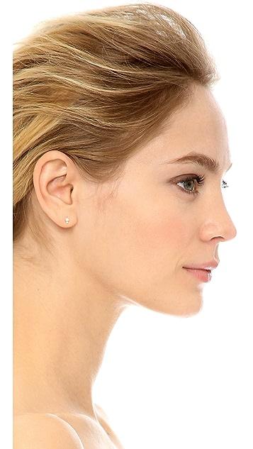 Ariel Gordon Jewelry 14k Gold Diamond Spotlight Stud Earrings