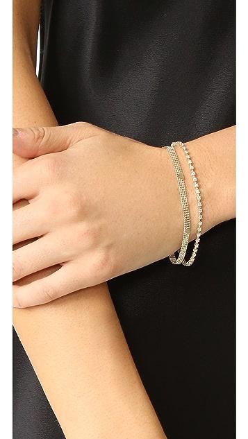 Ariel Gordon Jewelry 14k Gold Diamond Tennis Bracelet