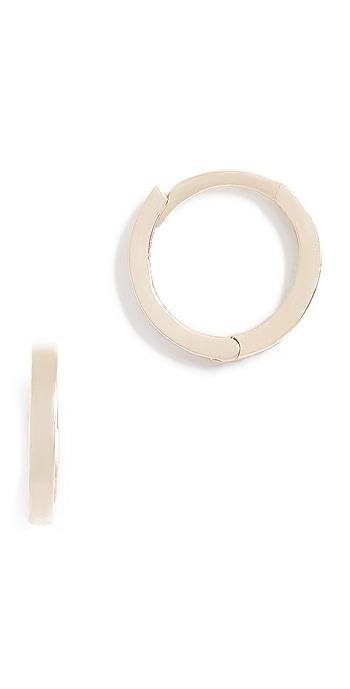 Ariel Gordon Jewelry 14k Petite Gold Hoop Earrings - Gold