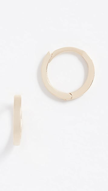 Ariel Gordon Jewelry Petite 14k Gold Hoop Earrings