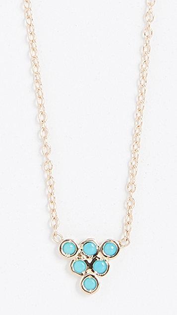 Ariel Gordon Jewelry Turquoise Triad Necklace