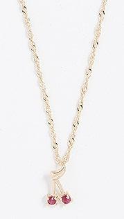 Ariel Gordon Jewelry 14k 樱桃炸弹项链