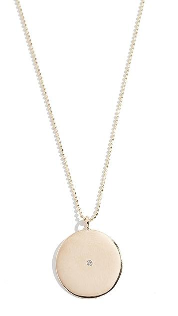 Ariel Gordon Jewelry 14k Large Circle Pendant