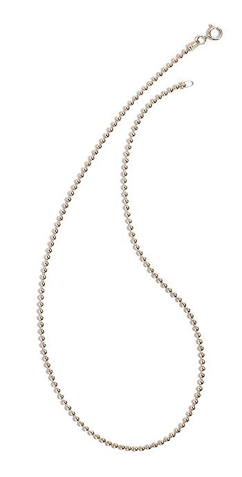 Ariel Gordon Jewelry 14k Spot Chain Necklace - Yellow Gold