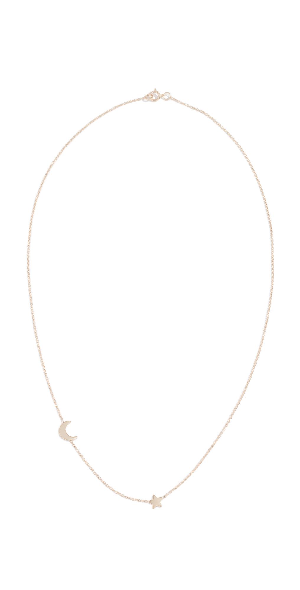 14k Starry Night Necklace