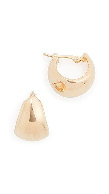 Ariel Gordon Jewelry 14k Helium Huggies