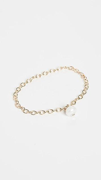 Ariel Gordon Jewelry Браслет Lido из 14-каратного золота с каплей
