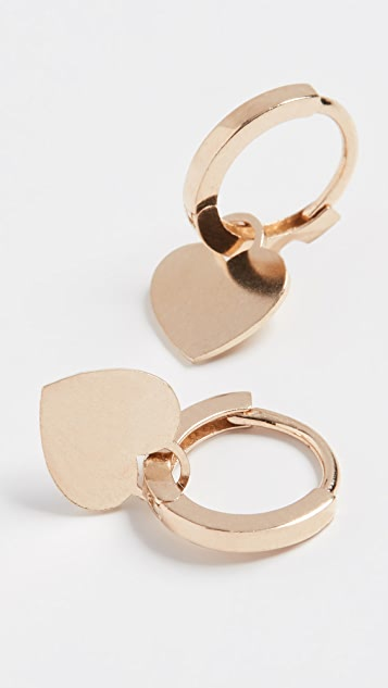 Ariel Gordon Jewelry 14k Charming Hoops