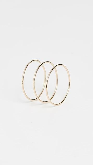 Ariel Gordon Jewelry 14k Paper 细戒指