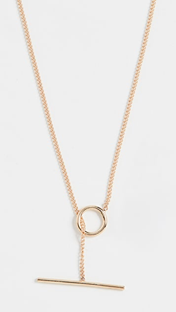 Ariel Gordon Jewelry 14k Toggle Wrap Chain Necklace