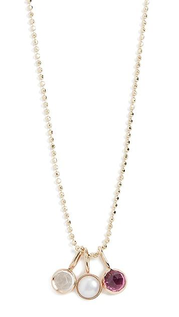 Ariel Gordon Jewelry Колье из 14-каратного золота с миниатюрной розой