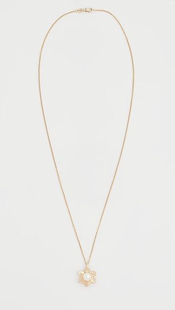 Ariel Gordon Jewelry 14k Lido 花朵吊坠