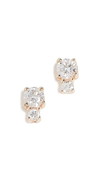 Ariel Gordon Jewelry 14k 钻石聚光耳钉