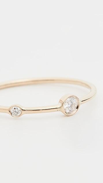 Ariel Gordon Jewelry 14k 双钻石叠戒