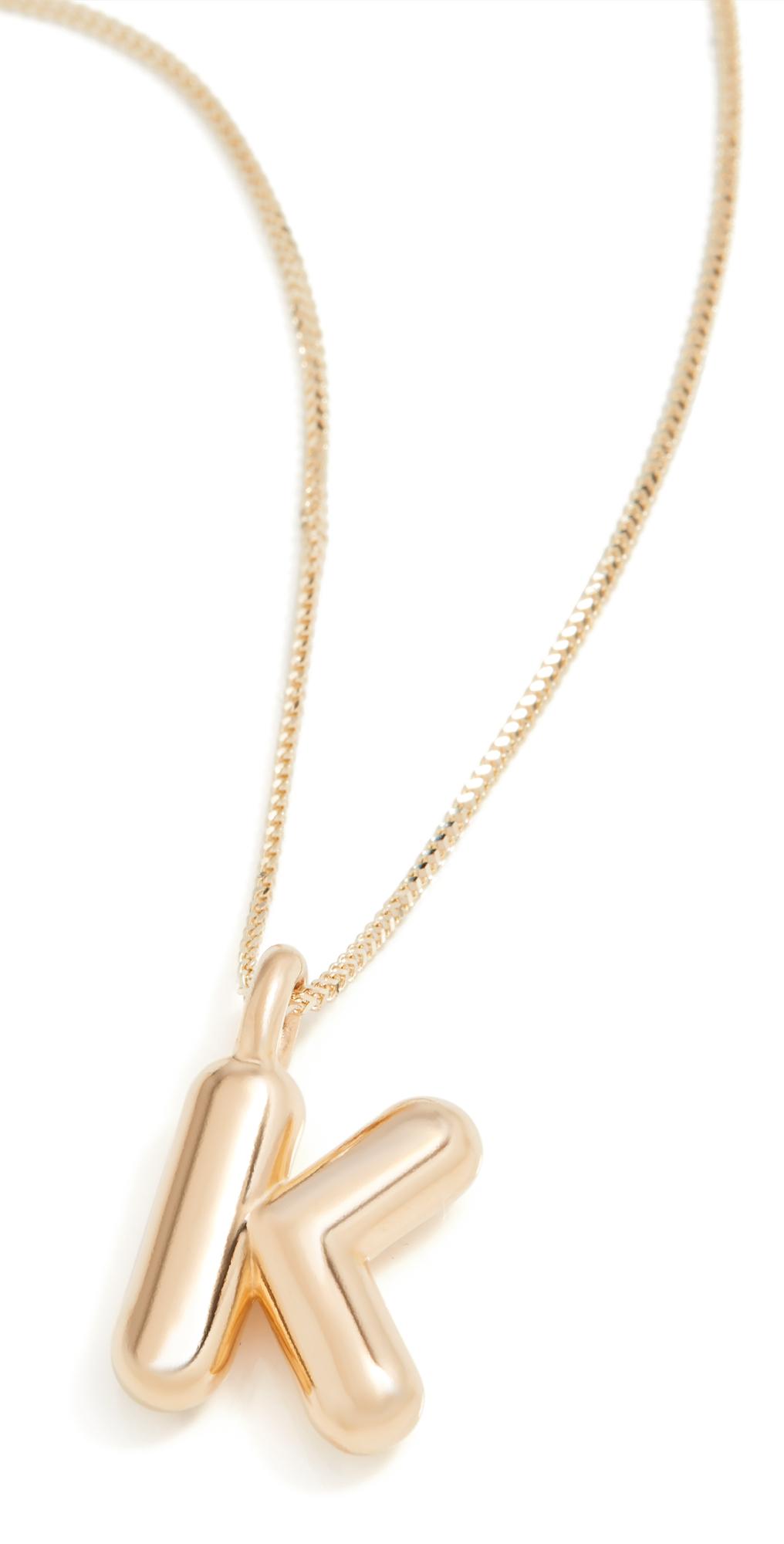Ariel Gordon Jewelry Helium Initial Pendant