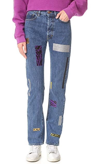 Aries Geo Taped Lily Jeans
