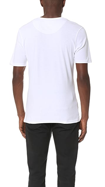 Armoire Officielle Teis Short Sleeve Henley