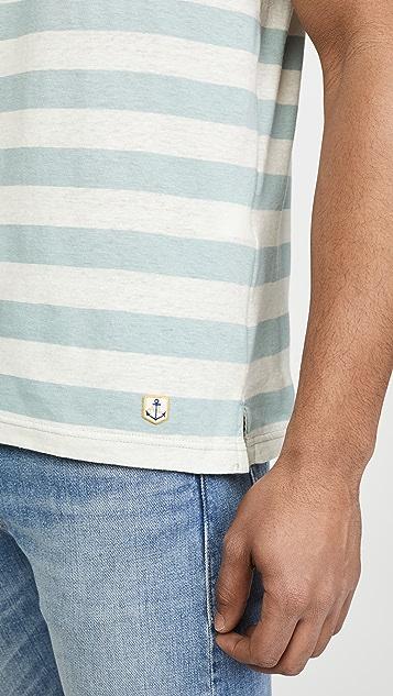 Armor Lux Short Sleeve Rayé Héritage T-Shirt