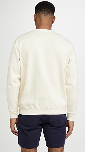 Armor Lux Long Sleeve Sérigraphié Héritage Sweatshirt