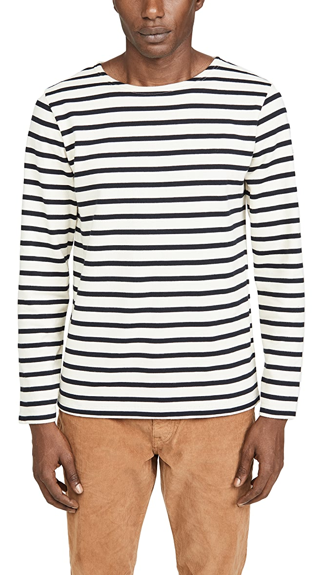 best sale first look sale online Striped Marinière Aviron T-Shirt