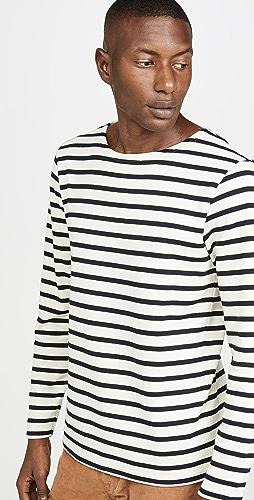 Armor Lux - Striped Marinière Aviron T-Shirt