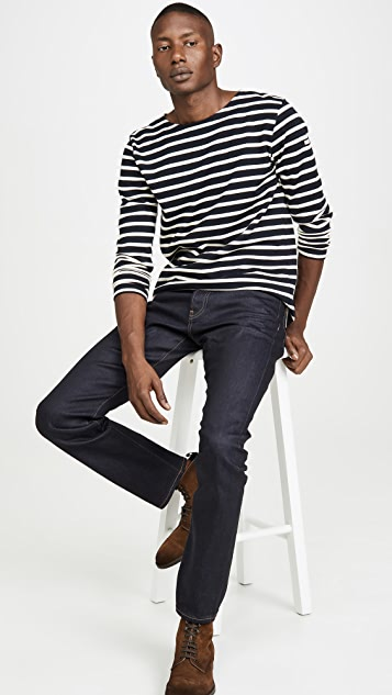 Armor Lux Long Sleeve Striped Marinière Aviron T-Shirt