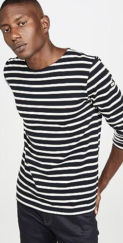 Armor Lux - Long Sleeve Striped Marinière Aviron T-Shirt