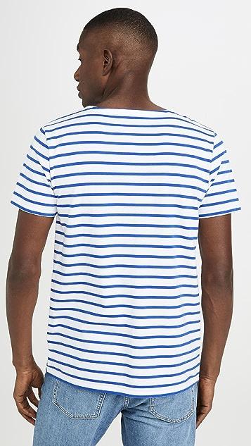 Armor Lux Short Sleeve Marinière Hoëdic Héritage T-Shirt