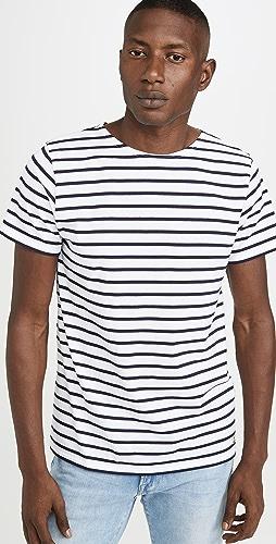 Armor Lux - Short Sleeve Marinière Hoëdic Héritage T-Shirt